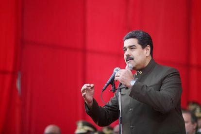 Nicolás Maduro participa de uma cerimônia militar em Caracas, no dia 1 de junho.