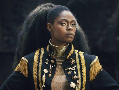 A cantora Xênia França, que lançou disco este ano com patrocínio da Natura Musical.