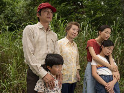 Cena do filme 'Minari: em busca da felicidade'.