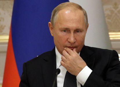 O presidente da Rússia, Vladimir Putin.
