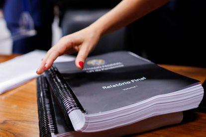 Relatório final da CPI da Pandemia, apresentado nesta quarta.