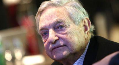 George Soros, no Fórum Econômico Mundial de Davos de janeiro passado.