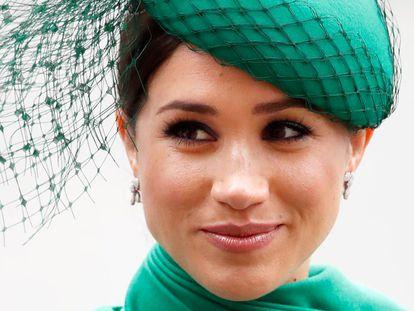 Meghan Markle, duquesa de Sussex, en marzo de 2020 en Londres.