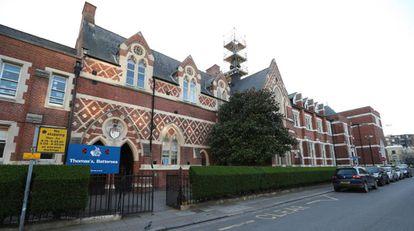 A escola Thomas Battersea, em Londres.