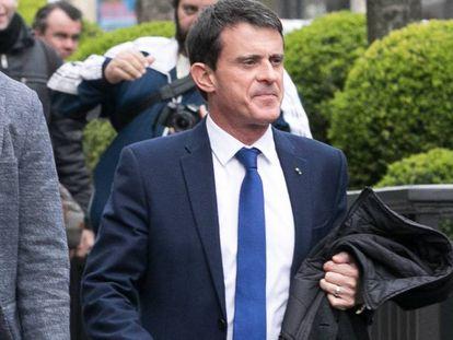 Manuel Valls, na quinta-feira passada (23) em Paris.