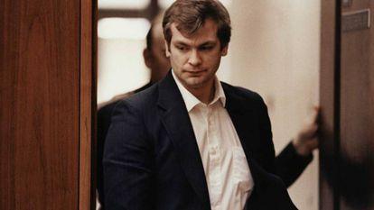 Jeffrey Dahmer durante o julgamento em 1992.