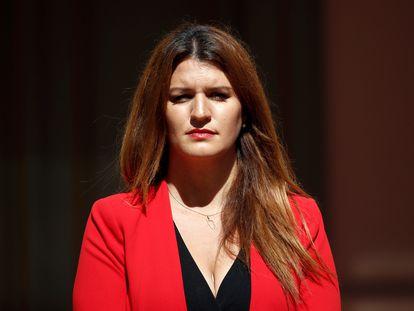 A ministra da Cidadania, Marlène Schiappa, principal defensora da proibição dos certificados de virgindade, em julho passado, em Paris