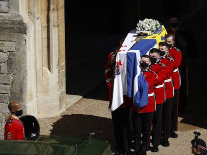 O funeral de Philip de Edimburgo, em imagens