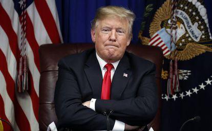 O presidente dos Estados Unidos, Donald Trump.