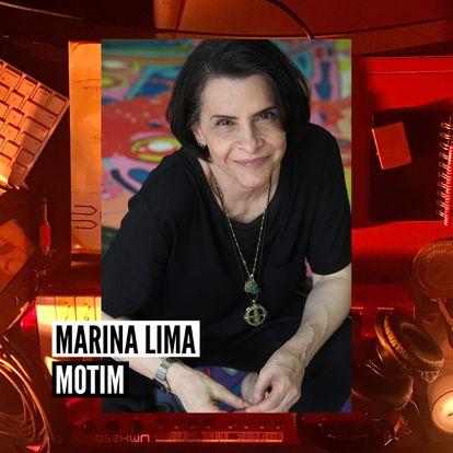 Marina Lima na capa de 'Motim'