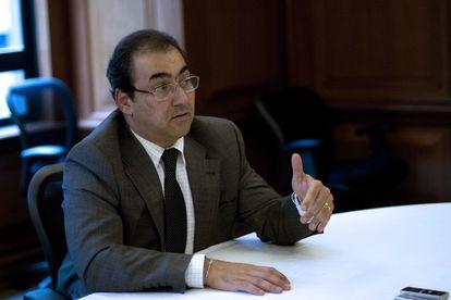 O novo presidente da CAF, Sergio Diaz-Granados, em uma foto de arquivo.