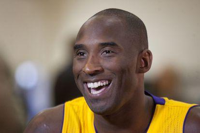 O jogador de basquete Kobe Bryant.