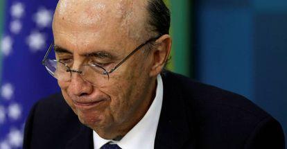 Henrique Meirelles, ministro da Fazenda.