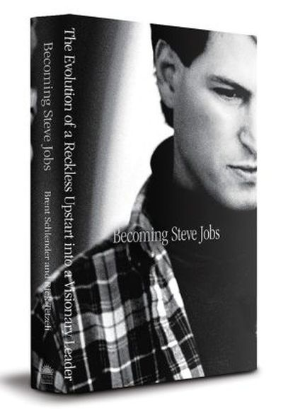 Capa do novo livro sobre Steve Jobs