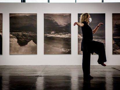 Performance na 34ª Bienal de Arte de São Paulo.