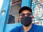Rubevando Figuereido tenta há mais de um mês dar entrada no pedido de seguro-desemprego.