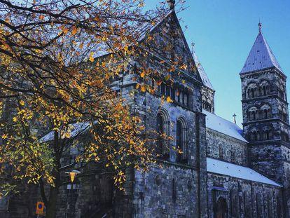 A catedral de Lund (Suécia).