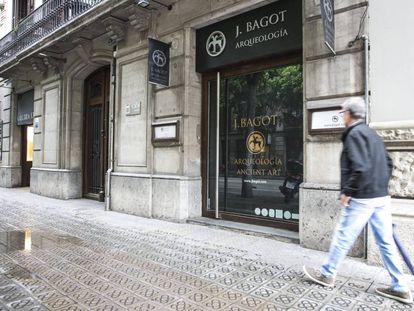 Galeria de Jaume Bagot, no centro de Barcelona.