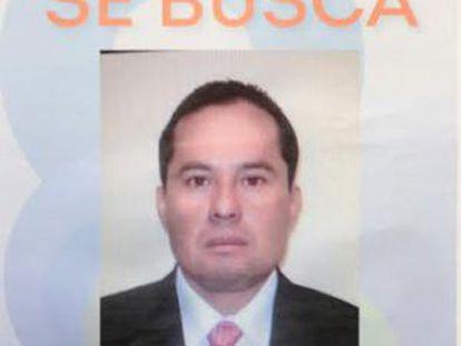 Imagem de Nicasio Aguirre Guerrero, diretor de polícia em Silao, divulgada pela Procuradoria de Justiça de Guanajuato.