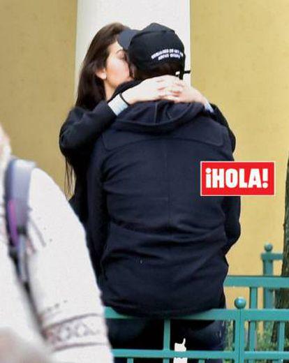 Cristiano Ronaldo e Georgina Rodríguez, captados por ¡HOLA!, em Paris