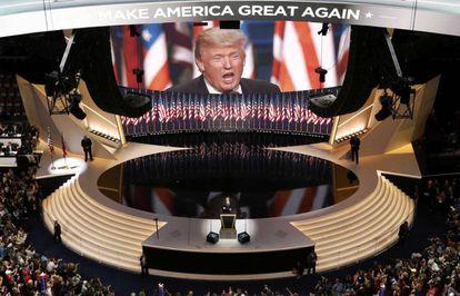O palco de Cleveland.