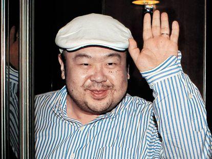 Foto de Kim Jong-nam em Macau, em 2010.