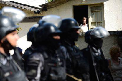 PM do Rio em reintegração de pose em novembro de 2016.