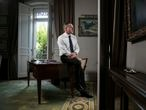 Niall Ferguson, escritor e historiador, en una imagen de archivo de 2018 en Madrid.