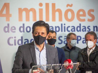 Vice-prefeito de São Paulo, Ricardo Nunes.