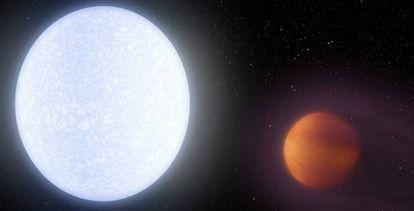 O KELT-9B é o planeta mais quente de que se tem conhecimento.