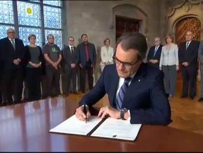 """Líder regional convoca catalães a """"decidirem seu futuro"""" em votação"""