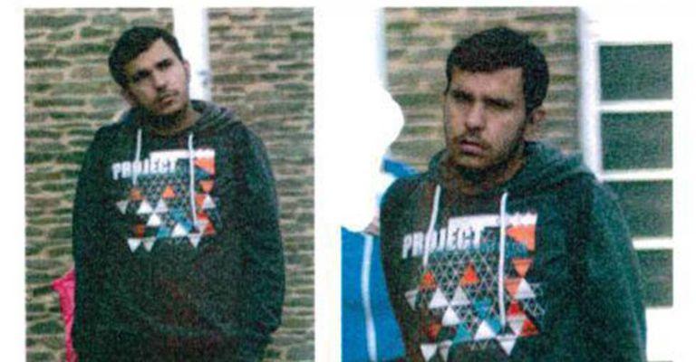 Foto feita pública pela policial de Sajonia do suspeito de planejar um ataque Jaber Albakr.