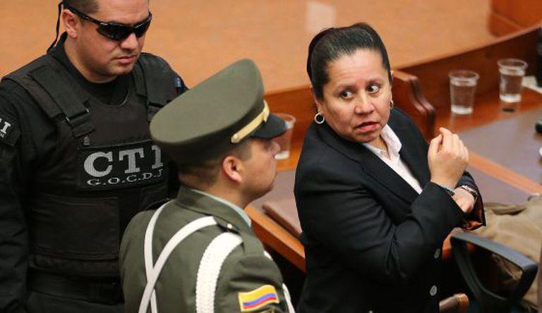 Maria del Pilar Hurtado, ex-chefe da Inteligência colombiana.