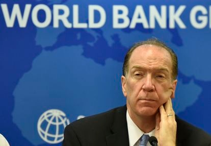 O presidente do Banco Mundial, David Malpass, numa foto de 2019.