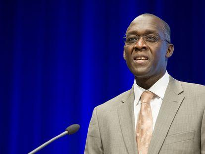 Makhtar Diop, vice-presidente do Banco Mundial para o setor de Infraestrutura.
