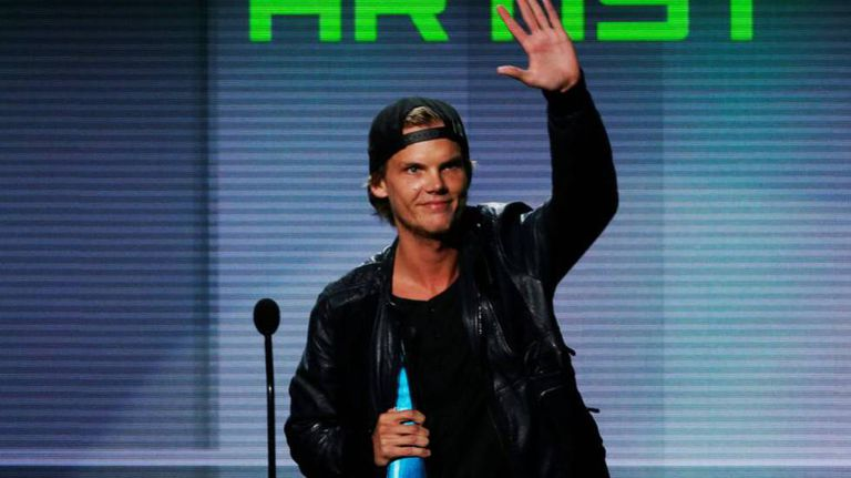 O DJ sueco Avicii, em uma imagem de arquivo