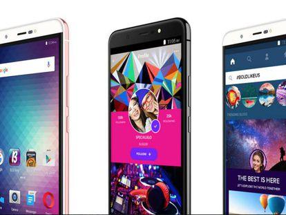 O Energy X Plus 2, da Blu, um dos celulares afetados.