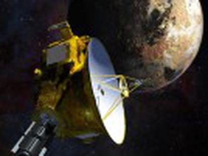 A sonda chegou nesta terça-feira aos últimos confins do Sistema Solar para recolher todas as informações que puder do planeta anão