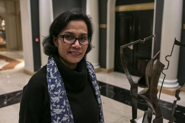 A diretora-gerente do Banco Mundial, Sri Mulyani Indrawati