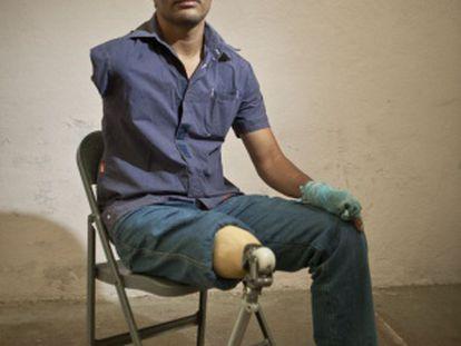 José Luis Hernández (28 anos), presidente da AMIREDIS (Associação de Migrantes com Deficiência).