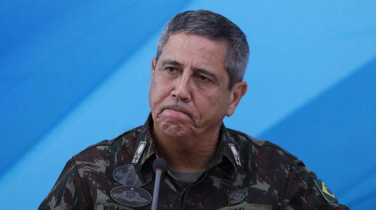 O general Braga Netto, interventor do Rio de Janeiro.