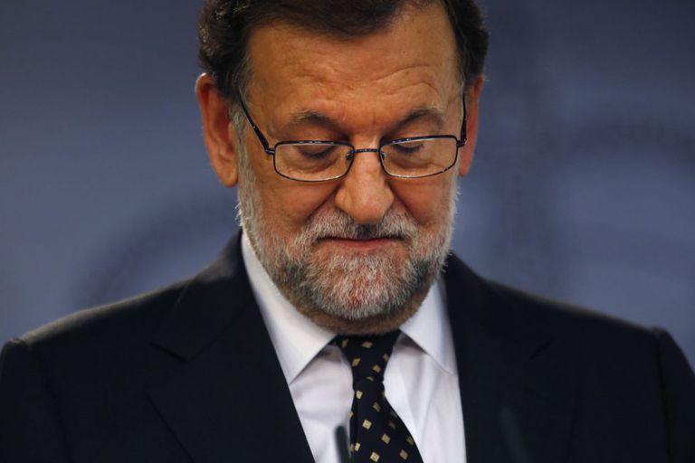 O presidente do Governo espanhol em exercício, Mariano Rajoy.
