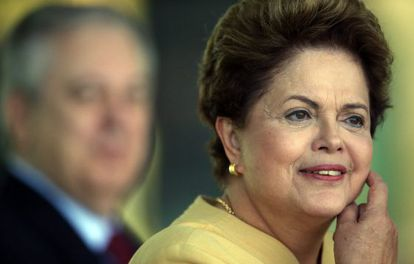 A presidenta brasileira nesta sexta-feira.