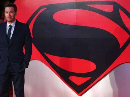 Ben Affleck, no lançamento de 'Batman v Superman', em março passado em Londres.