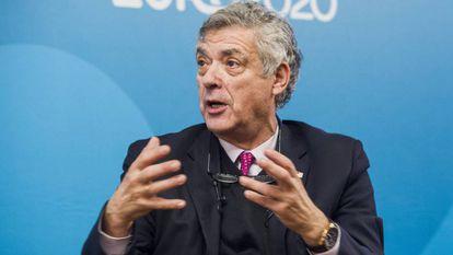 Ángel María Villar, em uma foto de arquivo.