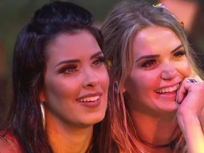 A modelo Ivy (esquerda) e a médica Marcela (direita), participantes do Big Brother Brasil 2020.
