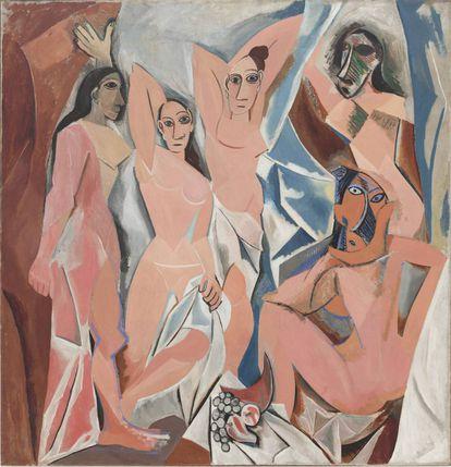 'As senhoritas de Avignon', de Pablo Picasso.