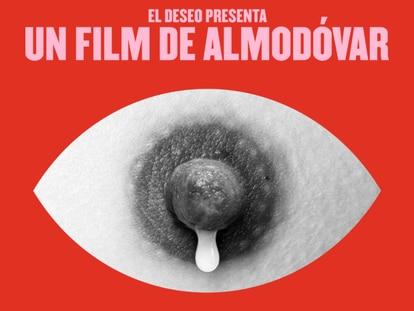 """O criador do cartaz viral do filme de Almodóvar: """"Se o mamilo fosse de um homem, não o teriam censurado"""""""