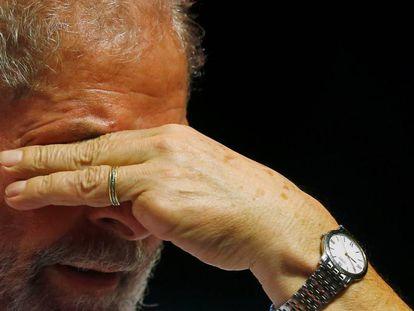 O ex-presidente Lula em foto de 2016.