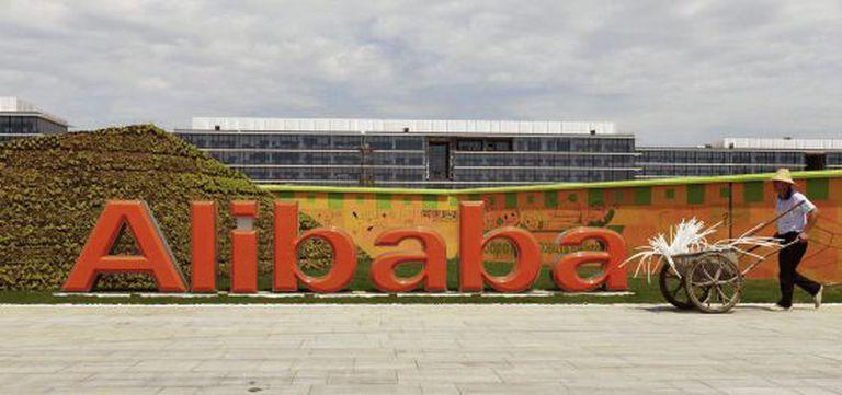 A sede do Alibaba em Hangzhou, na província chinesa de Zhejiang.